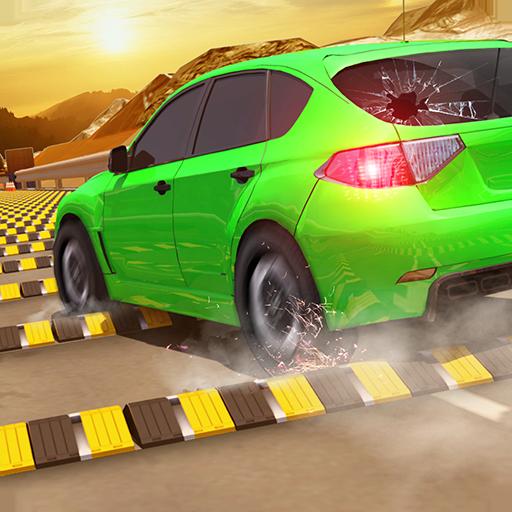 スピードバンプ 自動車事故 解体ダービー 2018年 スタントレーシング ゲーム 無料