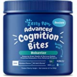 Zesty Paws Advanced Cognition Soft Chews for Dogs - with Omega 3 DHA, Ashwagandha & Alpha GPC - for Senior Dog Brain Health &