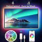 TV LED Backlight, Nitebird 9.2Ft Smart LED Strip Lights Works with Alexa Google Home Siri, 32-60in TV WiFi APP Control Multi-