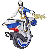 Power Rangers Lightning Collection - Spd Omega Ranger And Uniforce Cycle - 6 Inch Collectible Figure & Bike - Kids Toys - Age