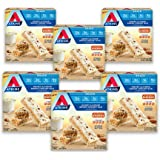 Atkins Honey Almond Greek Yogurt Snack Bar. With B Vitamins and Real Almond Butter. Keto Friendly and Gluten Free. (30 Bars)