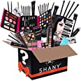 SHANY Gift Surprise - AMAZON EXCLUSIVE - All in One Makeup Bundle - Includes Pro Makeup Brush Set, Eyeshadow Palette,Makeup S