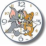 TOM AND JERRY 11.8'' 掛け時計 (トムとジェリー) あなたの友人やご家族のための最高のプレゼントです。