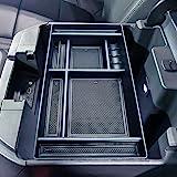 JKCOVER Center Console Organizer Tray Compatible with (2019-2020) Chevy Silverado 1500/GMC Sierra 1500 and 2020 Chevy Silvera