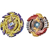 Beyblade Burst Surge Speedstorm Spear Valtryek V6 and Regulus R6 Spinning Top Dual Pack -- 2 Battling Game Top Toy for Kids A