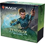 Magic The Gathering C75330000 Zendikar Rising Bundle | 10 Booster Packs (150 Cards) | Foil Lands | Accessories