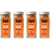 Noble Made by The New Primal Classic Buffalo Seasoning Spice & Dry Rub, 2.3 Oz Glass Jars (4 Count) - USDA Organic, Whole30,
