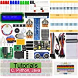 Freenove Ultrasonic Starter Kit for Raspberry Pi 4 B 3 B+ 400, 358-Page Detailed Tutorials, Python C Java Code, 171 Items, 47