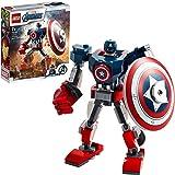 LEGO®MarvelAvengersClassicCaptainAmericaMechArmour76168BuildingKit