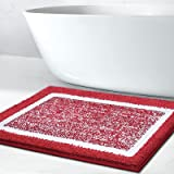 Bathroom Rug Mat, Ultra Soft and Water Absorbent Bath Rug, Bath Carpet, Machine Wash/Dry, for Tub, Shower, and Bath Room, Mic