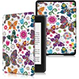 PINHEN Book Case for Kindle Paperwhite 2018 10th Gen - PU Leather Smart Cover with Auto Wake/Sleep for Amazon Kindle(10th Gen