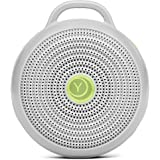 Marpac Hushh Portable White Noise Machine for Baby | 3 Soothing, Natural Sounds with Volume Control | Compact for On-the-Go U