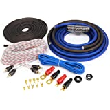 KnuKonceptz KCA 4 Gauge Complete Amplifier Installation Amp Wiring Kit with RCA