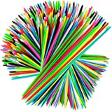 Pick Up Sticks - 240 Pieces Classic Pickup Sticks Game Toys with 1 Black Bag for Family Fun Game Gift