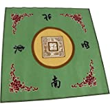 """We pay your sales tax 31.5"""" Table Cover - Slip Resistant Mahjong Game / Poker / Dominos / Card Tablecover Table Top Mat - Gre"""