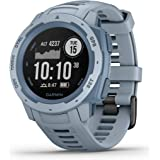 Garmin Instinct, Rugged Outdoor Watch with GPS, Features GLONASS and Galileo, Heart Rate Monitoring and 3-axis Compass, Sea F