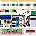 Freenove Super Starter Kit for Raspberry Pi 4 B 3 B+ 400, 411-Page Detailed Tutorials, Python C Java Scratch Code, 164 Items,