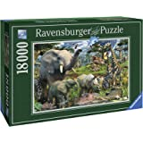 Ravensburger at The Waterhole Puzzle 18000pc,Adult Puzzles