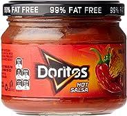 Doritos Hot Salsa Dip, 8 x 300 Grams