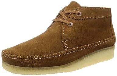 Weaver Boot: Cola Suede