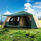 Tents for 4/5/6/8/12 Person Weisshorn Camping Tent Outdoor Family Cabin Hiking Beach Caravan Picnic Camp Shelter Gear Portabl