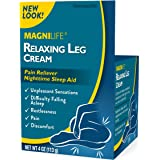 MagniLife Relaxing Leg Cream Pain Relief & Sleep Aid For Restless Legs, Cramping, Discomfort & Tossing - Natural Soothing, De