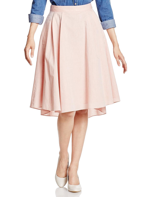 Amazon | (トランテアン ソン ドゥ モード)31 Sons de mode シャツ地イレギュラーヘムフレアスカート | スカート 通販