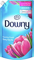 Downy Sunrise Fresh Concentrate Fabric Softener Refill, 1.6L