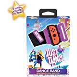 Just Dance 2020 - Dance Band - Joycon Nintendo Switch Controller Cuff - Adjustable Elastic Strap with Space for Joy-Cons Left
