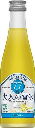 無着色・天然バナナ果汁77% チョーガ 大人の雪氷バナナ [ リキュール 300ml ]