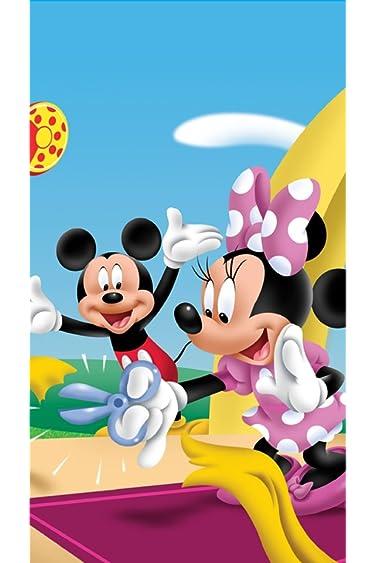 ディズニー  iPhone/Androidスマホ壁紙(640×960)-12 - テープカットするミニーと喜ぶミッキー