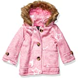 Steve Madden Girls Baby Girls Fashion Outerwear Jacket (More Styles Available), Wool Heather