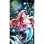 ディズニー iPhone8,7,6 Plus 壁紙 拡大(1125×2001) リトルマーメイド 輝く憧れの世界(アリエル)