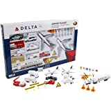 Daron RT4992 Delta Airport Playset, 30-Piece