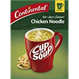 CONTINENTAL Cup-A-Soup | Classic Chicken Noodle, 4 pack, 40g