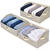 GRANNY SAYS Trapezoid Storage Box, Linen-like Fabric, Beige, Trapezoid