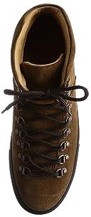 Suede Mid Cut Sneaker 1331-343-6897: Brown