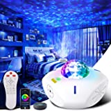 Galaxy Projector Night Light Projector Work with Alexa Google Assistant Star Projector with Bluetooth Speaker Galaxy 360 Pro