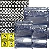 Antistatic Bags 10pc Motherboard Bag + 30pc 3 Sizes Ziplock