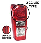 Ozeparts® LH LHS Left Hand Tail Light Rear Lamp For Isuzu DMax D-Max Ute 2014~2019 By TYC®