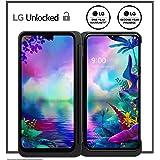 LG G8X Thinq Dual Screen Unlocked Smartphone – 6/128 GB – Aurora Black (US Warranty) – Verizon, AT&T, T–Mobile, Sprint, Boost