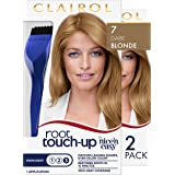 Clairol Root Touch-Up by Nice'n Easy Permanent Hair Dye, 7 Dark Blonde Hair Color, 2 Count
