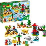 LEGO DUPLO Town World Animals 10907 Exclusive Building Bricks (121 Pieces)