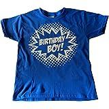 Custom Kingdom Boys' Birthday Boy Superhero T-Shirt