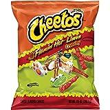 Cheetos Crunchy Flamin' Hot Lime 3 X 240.9g Bag Each Secure Packaging