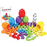 JOYIN Play-Act Counting/Sorting Bears Toy Set with Matching Sorting Cups Toddler Game for Pre-School Learning Color Recogniti