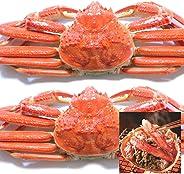 黒帯 ズワイガニ 姿 特大 ボイル ずわいがに姿 天然 本ずわい蟹 良品選別加工済 ブランド保証付 (1.2kgUP:600g×2尾入)