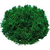WILLBOND Artificial Moss Green Dried Moss Decorative Fake Bulk Moss for Flower Plant Garden Lawn Crafts Wedding Decoration