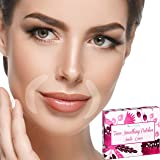Facial Patches Smile Wrinkle Remover Strips - 120 Smile Wrinkle Patches - Face Tape Smoothing for Wrinkle Treatment - Reusabl