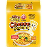 Ottogi Cheese Ramen, 111g, (Pack of 4)